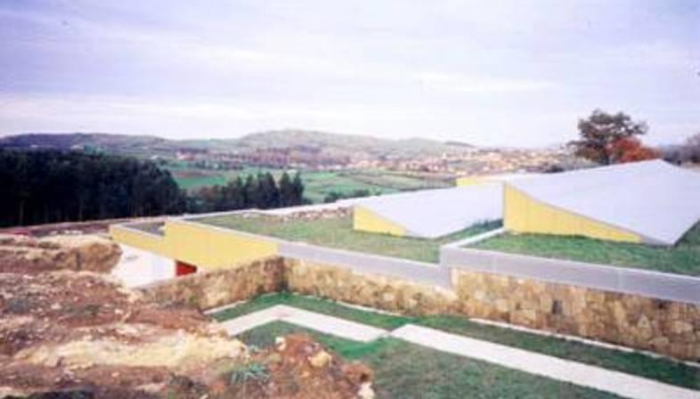 J. N. Baldeweg: museo e centro studi delle grotte di Altamira, 2000