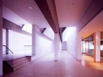 J. N. Baldeweg: Altamira caves museum and study centre, 2000
