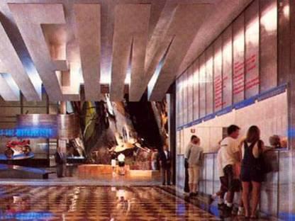 Rem Koohlaas<br> Guggenheim Las Vegas and Guggenheim Hermitage