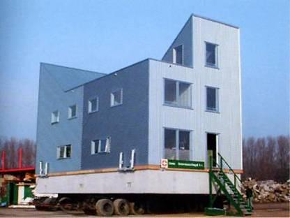 Architectenbureau Art Zaaijer<br /> Water houses, Amsterdam 2001