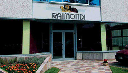 Raimondi Showroom, <br />Modena - Italy