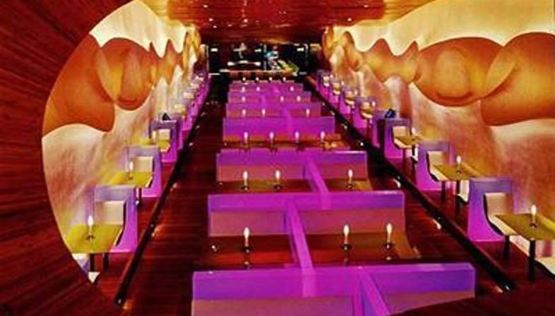 Morimoto Restaurant Karim Rashid Philadelphia Floornature