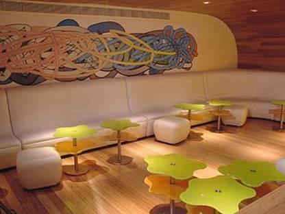 Morimoto restaurant, Karim Rashid, Philadelphia, 2001
