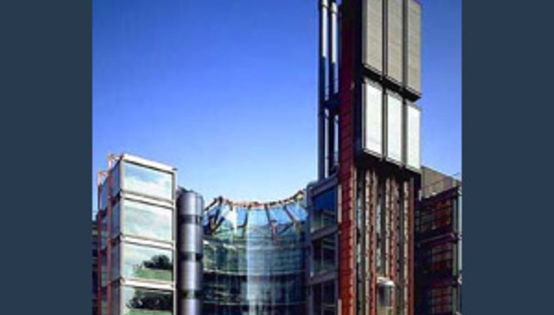 Richard Rogers: Channel 4 television headquarters in London, 1991-1994