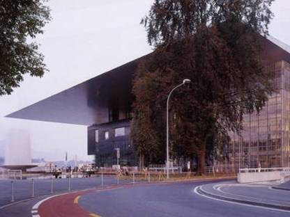 Jean Nouvel, Congress Center,<br> Lucerne, Switzerland