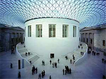 Foster & Partners, the Great Court<br> British Museum, London