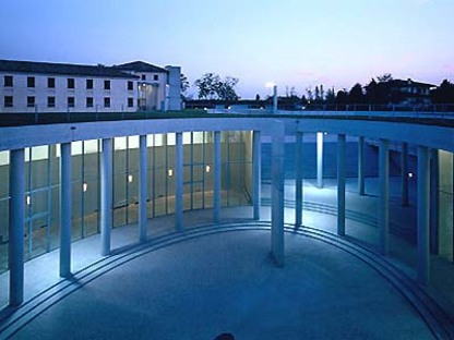 Fabrica for Benetton in Treviso. Tadao Ando