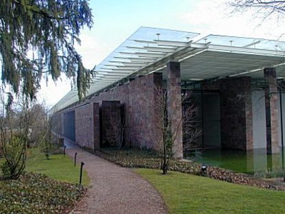 Beyeler Foundation Museum in Riehen, Basel, 1991-1997. Renzo Piano