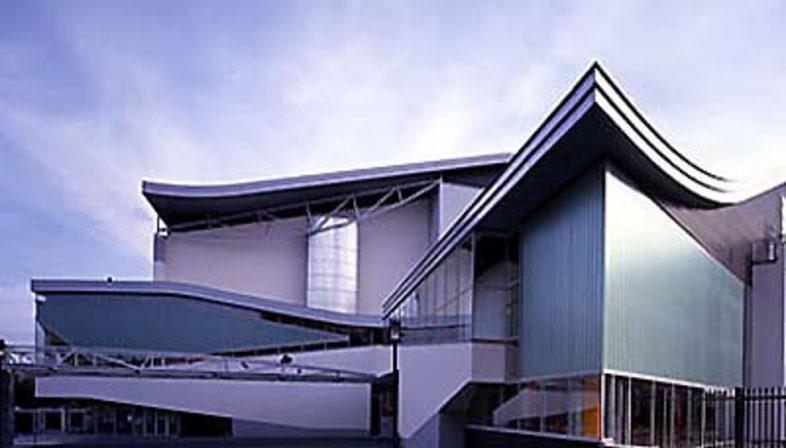 Chassé Theatre, Breda, Holland<br> 1992-1995. Herman Hertzberger