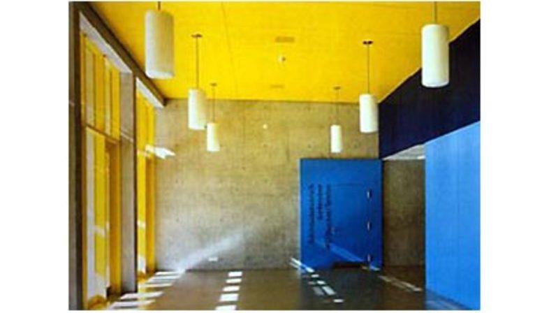 Gigon-Guyer: sports centre in Davos, Switzerland