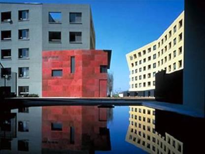 Housing development in Makuhari, Japan. Steven Holl