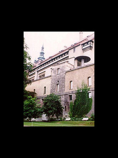 Borek Sípek<br>The new Art Gallery in Prague Castle, 1996