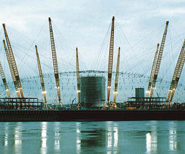 Rogers-Hadid-Imagination<br> Millennium Dome, Greenwich peninsula, London, 1996-1999