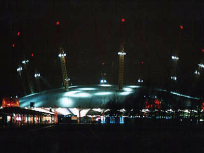 Rogers-Hadid-Imagination<br> Millennium Dome, Greenwich peninsula, London, 1996-1999