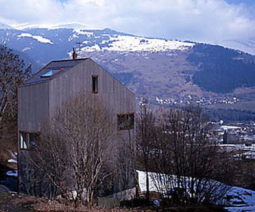 Valentin Bearth, Andrea Deplazes<br> Willimann A Sevgein Home, Switzerland, 1997-98