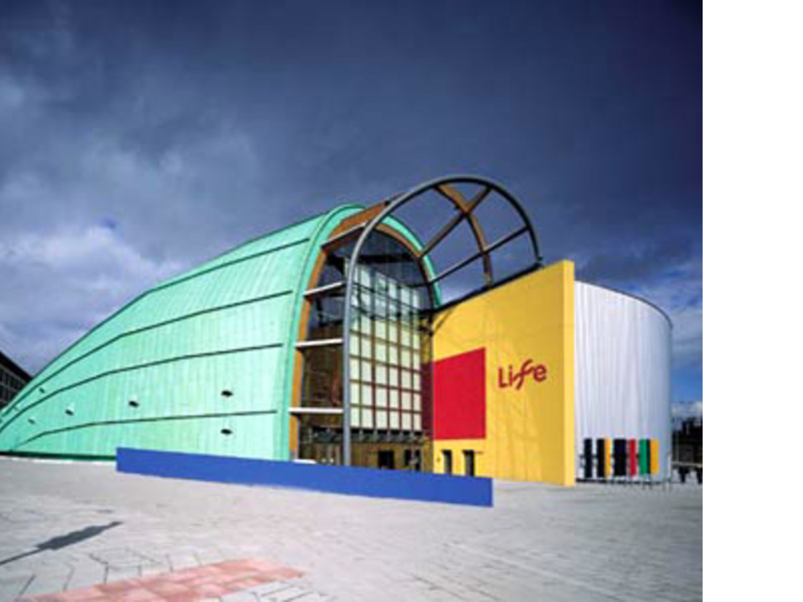 Terry Farrell<br> International Centre for Life, Great Britain, 1996