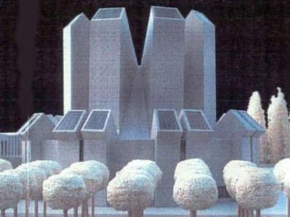 Mario Botta, Chiesa del Santo Volto, Turin, Italy