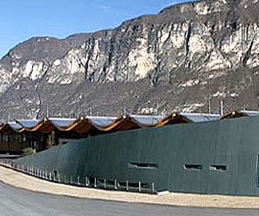 The MezzaCorona winery<br>Alberto Cecchetto