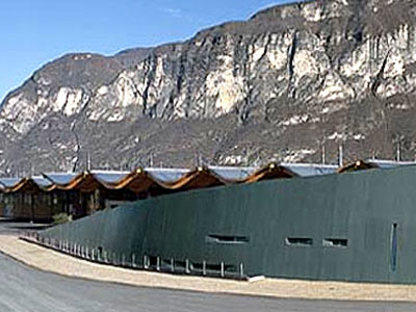 The MezzaCorona winery<br>Alberto Cecchetto