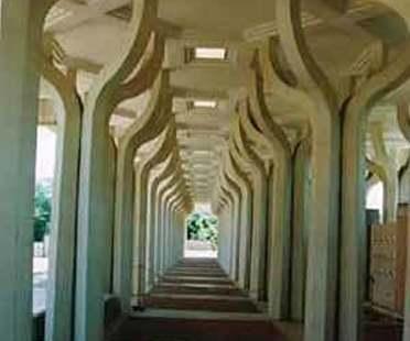 Islamic cultural centre and mosque, Rome<br> Paolo Portoghesi