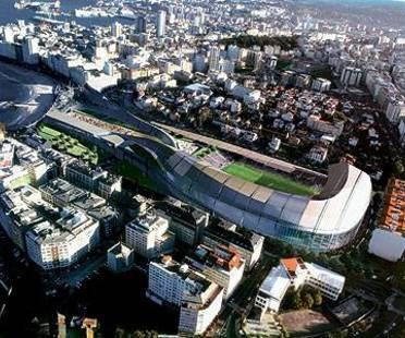 Peter Eisenman, Deportivo Stadium <br> La Coruña