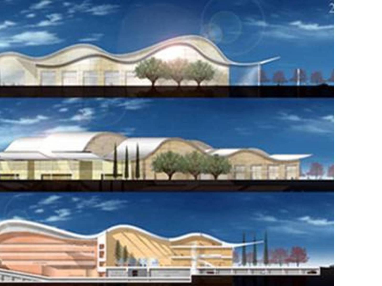 Ricardo Bofill: Villa Cultural de Prado<br> Valladolid, under construction