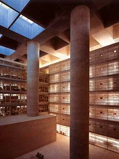 Alberto campo baeza head offices of caja general de ahorros granada spain 2001 floornature - Campo baeza caja granada ...