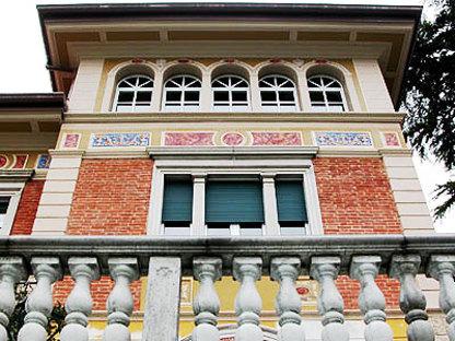 Luigi Ferrari<br> Renovation of art nouveau villa in Roè Volciano