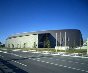 Arata Isozaki: Convention Hall in Nara, Japan