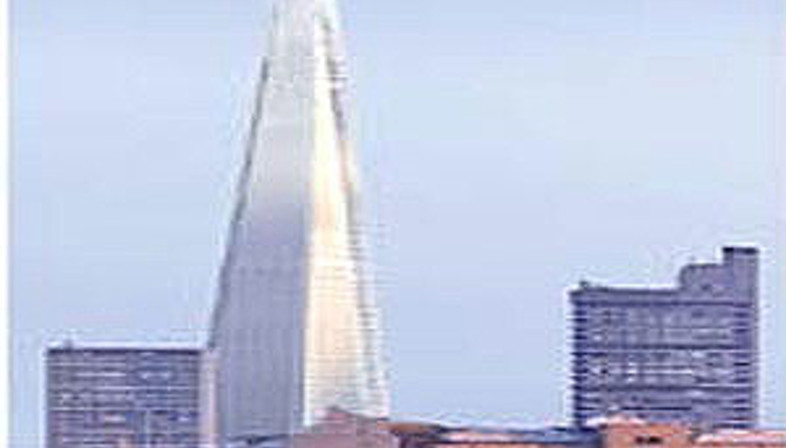 Shard of glass, London