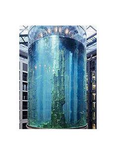 Aquadom, Berlin <br> Sergei Tchoban, 2003