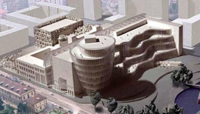 Turin Civic Library <br>Mario Bellini