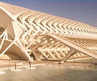 Science museum, Valencia.<br> Santiago Calatrava
