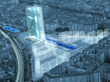 Turin. New headquarters for the Region of Piedmont. Massimiliano Fuksas