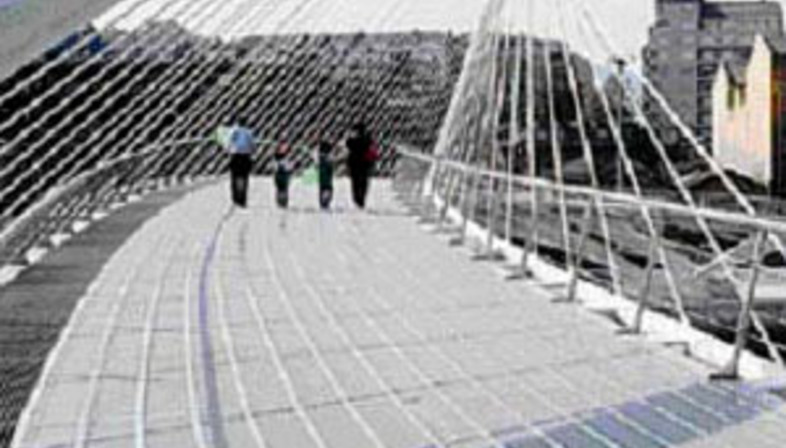 Calatrava's bridge<br>Venice. 2004