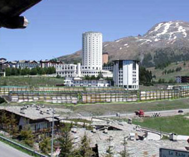 Sestriere Olympic Village and ex Medail Holiday Camp. 2005