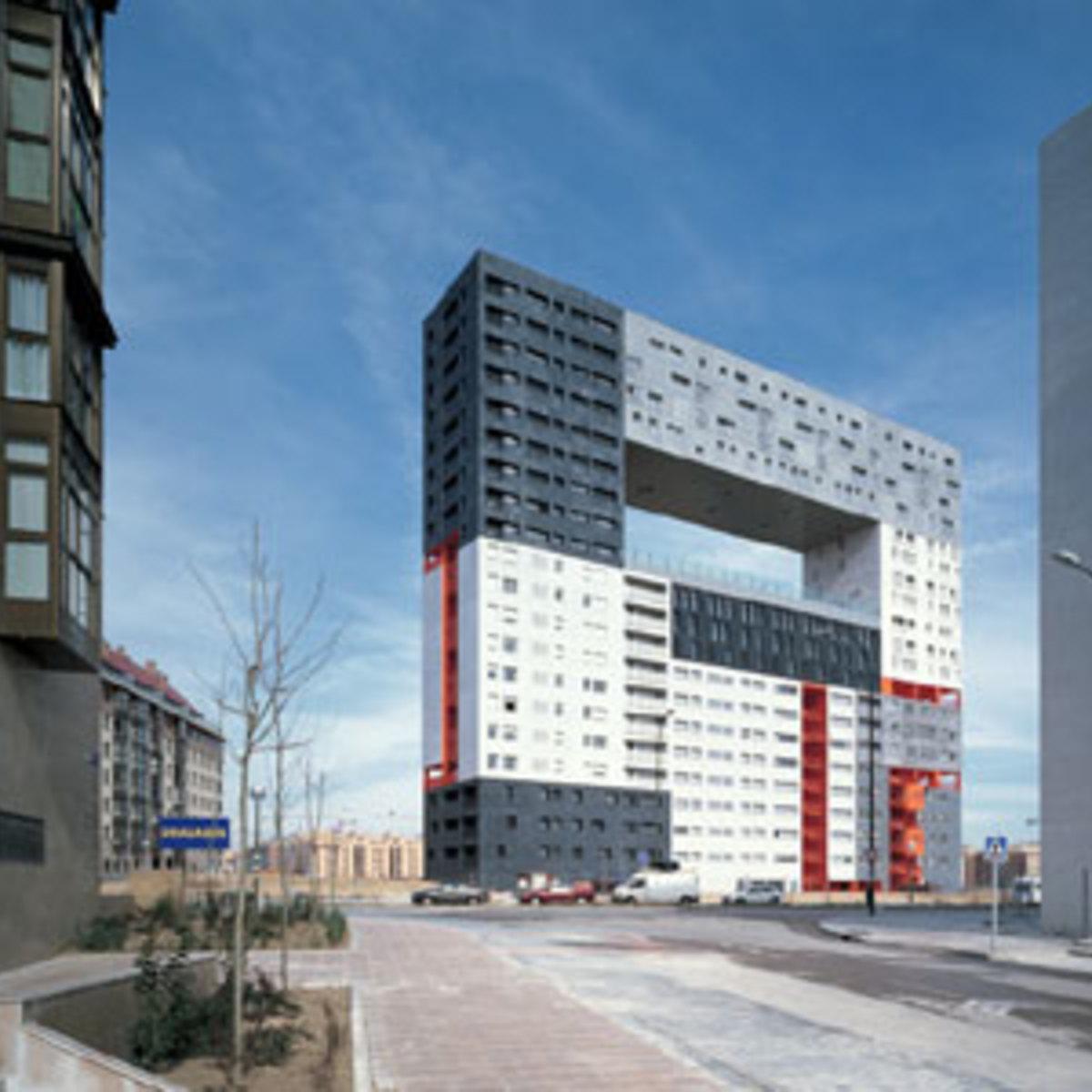 Black Floor Design >> Mirador apartment building MVRDV Blanca Leo Madrid 2005 ...