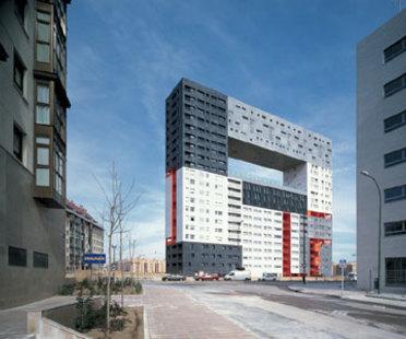 Edificio per abitazioni Mirador<br> MVRDV + Blanca Le&oacute;<br> Madrid, 2005