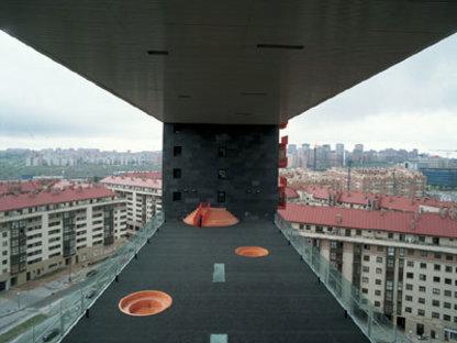 Mirador apartment building<br> MVRDV + Blanca Leó<br> Madrid, 2005