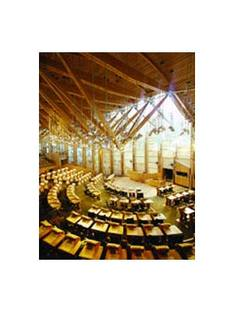 Edinburgh, the Scottish Parliament. Miralles y Tagliabue 2004