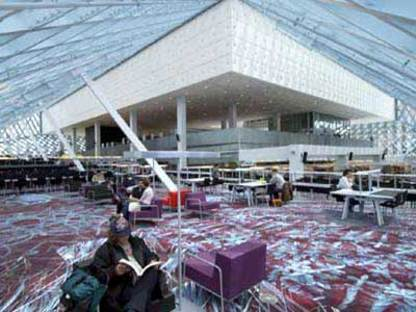 Seattle Public Library<br> Rem Koolhaas/OMA