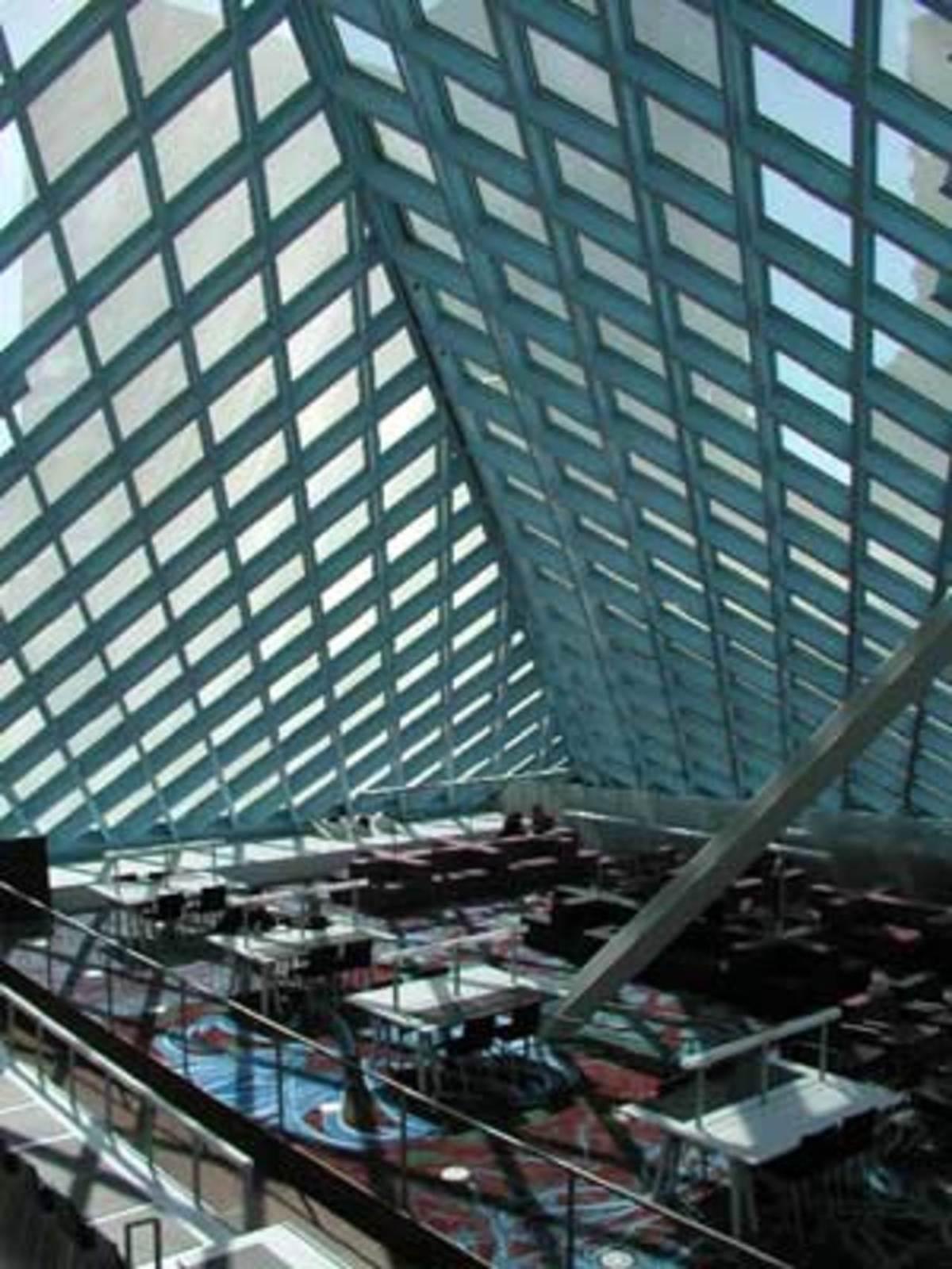 Seattle Public Library Rem Koolhaas Oma Floornature