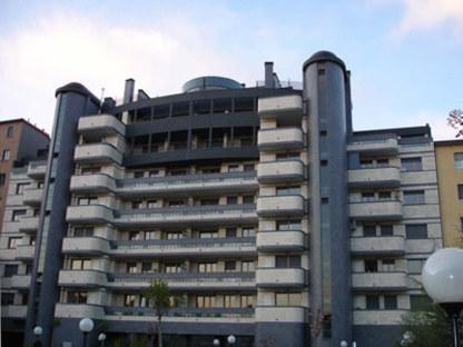 Residential buildings in Milan