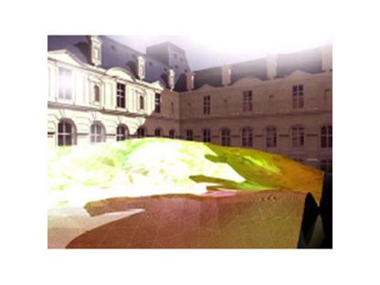 Paris. Louvre Museum of Islamic Art. Mario Bellini and Rudy Ricciotti. 2005