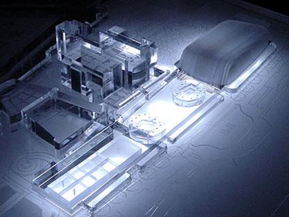 Venice. New Palazzo del Cinema<br> 5+1 and Rudy Ricciotti. 2005