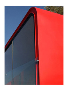 Tecamachalco (Mexico City). Red annex. Michel Rojkind. 2003