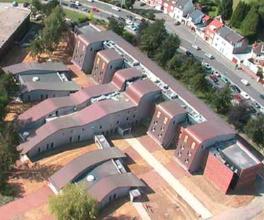 Psychiatric Centre for Arras Hospital<br> Architecture-Studio. France, 2004