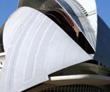 Valencia. Palau de les Arts <br> Santiago Calatrava. 2005