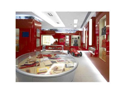 Ferrari Store Milan. <br>Massimo Iosa Ghini. 2005