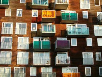 MVRDV, WoZoCo's Apartments for Elderly People, Amsterdam, the Netherlands, 1997